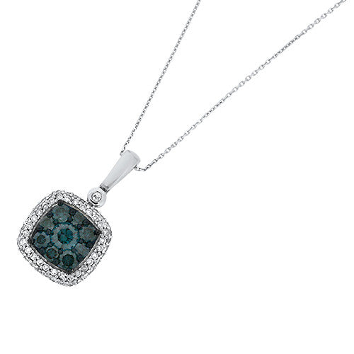 blue gold white p dfch pendant diamond