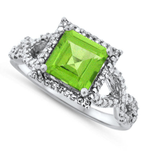 Flair Peridot Ring