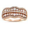 Diamond Rose Gold Fashion Ring