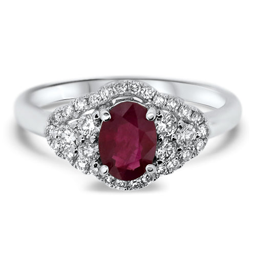 Elegant Ruby Ring