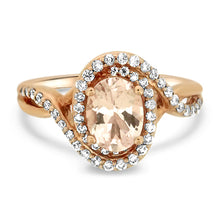Load image into Gallery viewer, Morganite and Diamond Ring