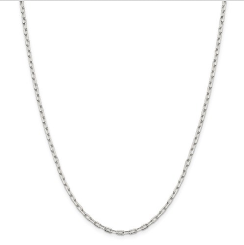 Sterling Silver Paperclip Chain (Light)