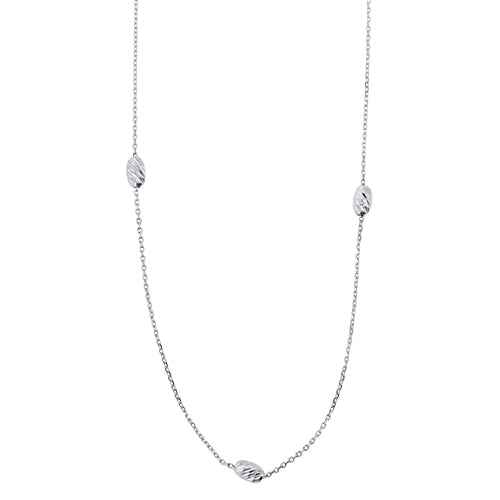 White Gold Fashion Necklace
