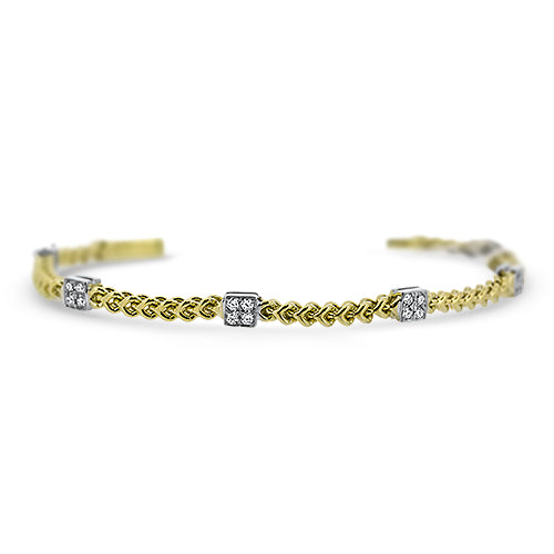 .60CTTW Diamond Chain Link Bracelet
