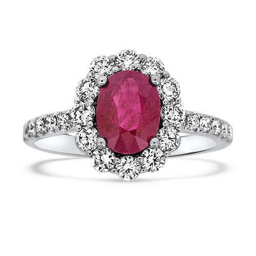 1.50CT Ruby Vogue Ring