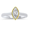 .58CT Marquise-Cut Diamond Ring