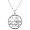 Big Spirit with Sailboat Pendant