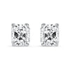 Radiant Cut Diamond Studs