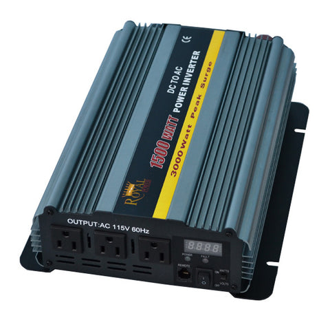 1500 Watt Power Inverters 24 Volt DC To 110 Volt AC