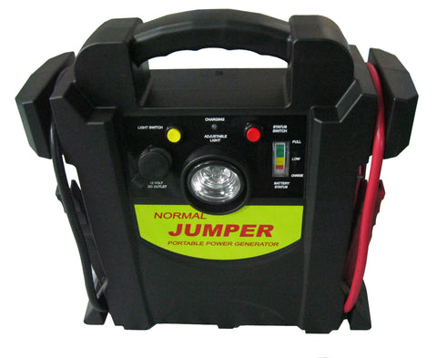 400 Amp Jump Starter 1700 Amp Peak Power 260PSI Air Compressor