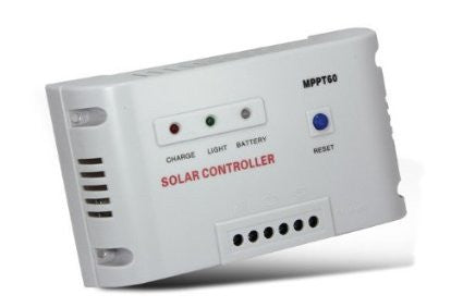 60A MPPT Solar Regulator Charge Controller 12V 24V Autoswitch Solar Panel