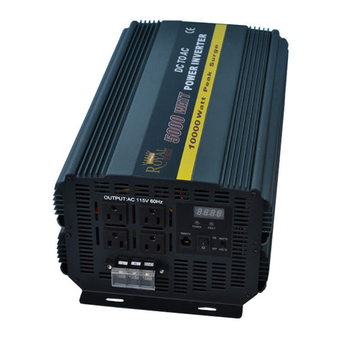 5000 Watt Power Inverter 12 Volt DC To 110 Volt AC