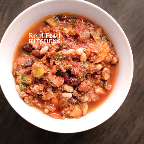 Three Bean Vegetable Chili