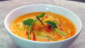 Red Thai Vegetable Tofu Curry