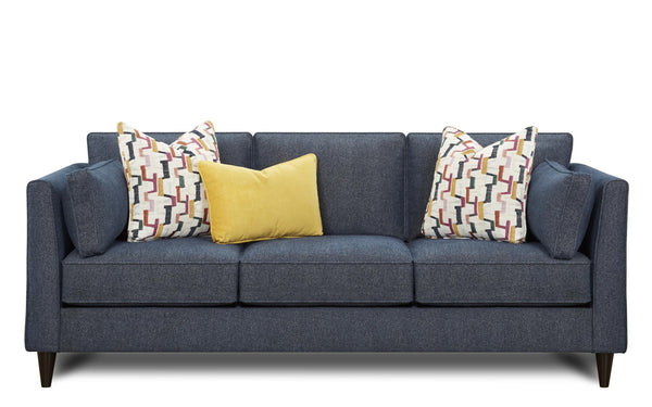 Theron Indigo Sofa