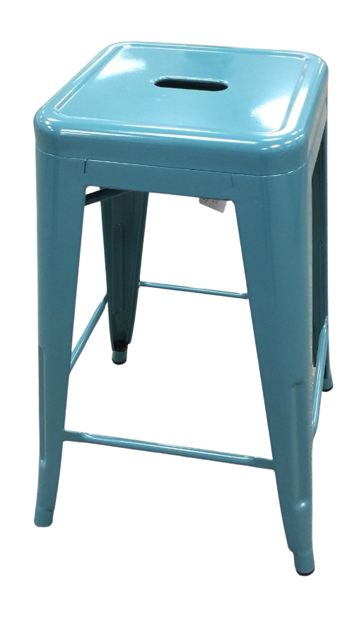 Metro Turquoise Counter Stool