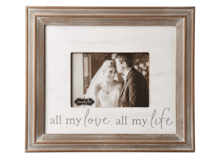 All my love, All my life Picture Frame