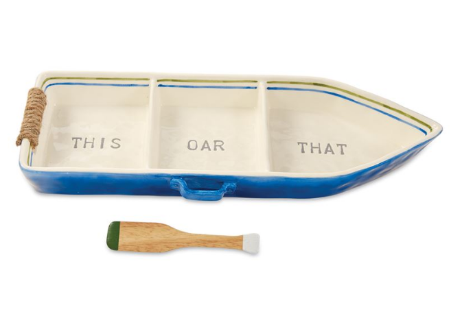 Boat Serving Tray