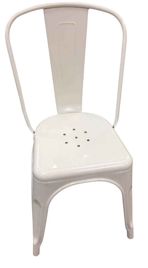 Warm White Dining Chair