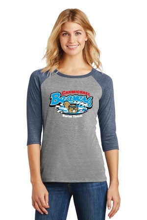 Carmichael Beavers - Ladies Raglan T-Shirt