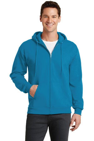 Carmichael Beavers - Zip Up Hooded Sweatshirt