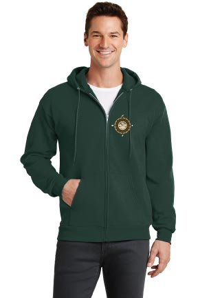 Mission Ave Adult Hooded Zip-Up Sweatshirt - Yosemite 4th Grade