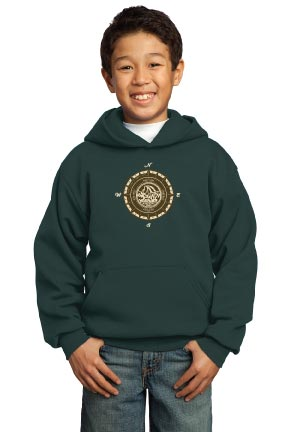 Mission Ave Youth Hooded Sweatshirt - Yosemite 4th Grade