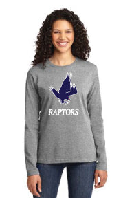 Raptors - Ladies Long Sleeve T-Shirt