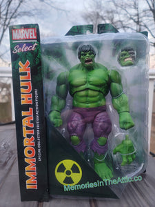 Marvel Select Comics Immortal Hulk Special Collector Edition Action Figure