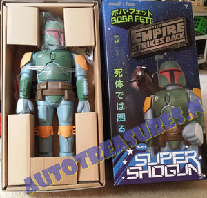 "Star Wars Boba Fett Shogun Bounty Hunter 24"" Action Figure Jedi Empire Funko"