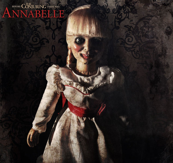 "The Conjuring Annabelle 18"" Screen Movie Accurate Plush Horror Doll Mezco Toyz"