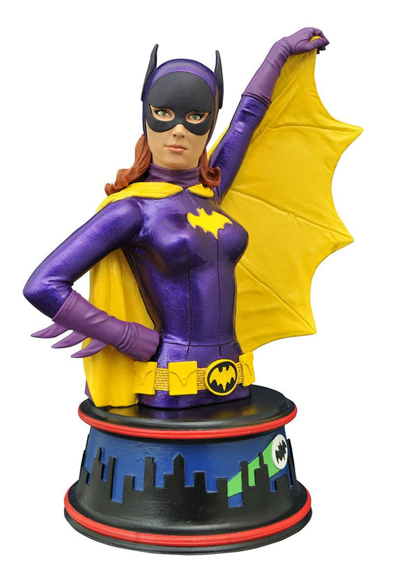DC Superhero Batgirl1966 TV Series Batman Resin Bust Yvonne Joyce Craig 6