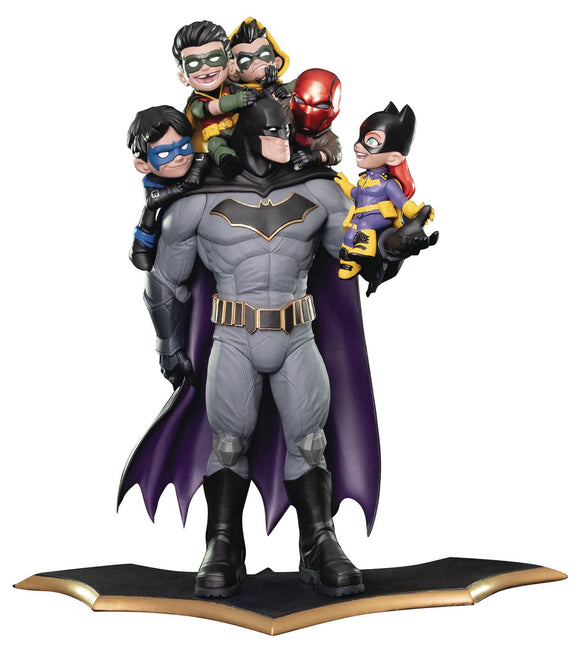 Quantum Mechanix Batman Family Statue Q-Master Diorama Numbered Signed 15
