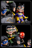 "Quantum Mechanix Batman Family Statue Q-Master Diorama Numbered Signed 15"" Tall"