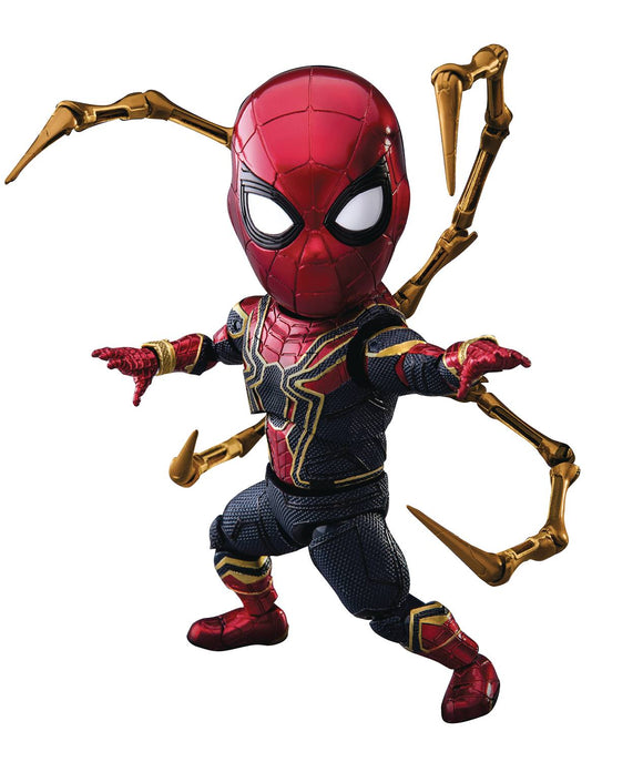Beast Kingdom PX Mini Egg Attack Avengers Infinity War Iron Spider Man Action Figure