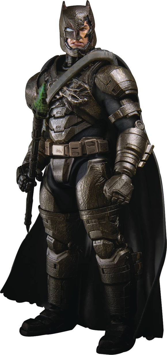 Beast Kingdom Armored Batman PX AF Battle Damaged Suit 1/9 Scale Action Figure