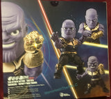 Beast Kingdom PX Mini Egg Attack Avengers Infinity War Thanos Action Figure Infinity Gauntlet
