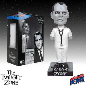 The Twilight Zone Doctor Bernardi Bobble Head Bif Bang Pow Bobblehead Nodder