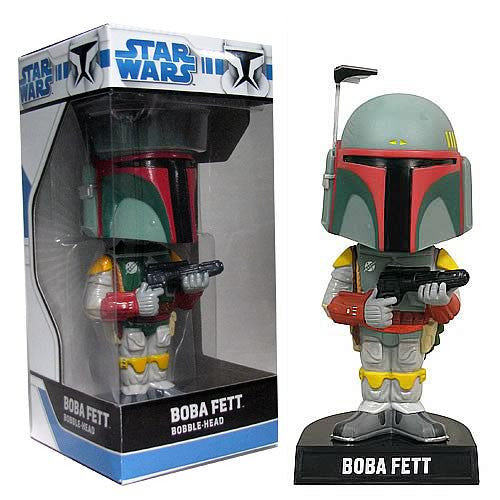 Funko Star Wars Boba Fett Series Collectible Bobblehead Wacky Bobble Nodder