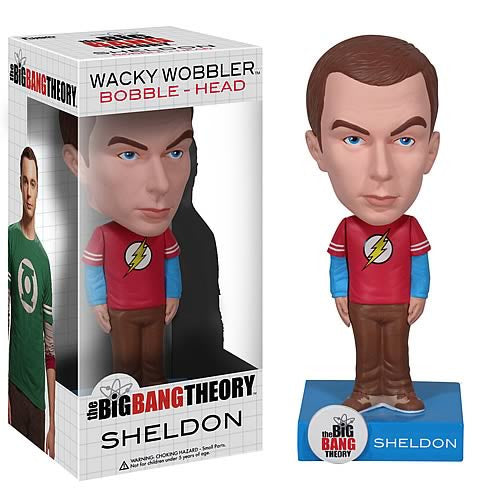 Funko The Big Bang Theories Sheldon Cooper Bobblehead Knocker Bobble Head Nodder