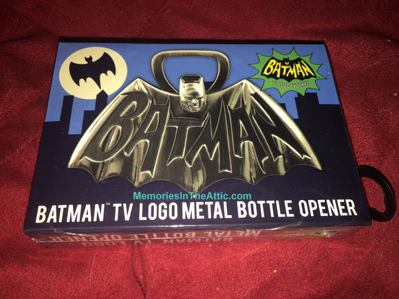 Batman Superhero 1966 TV Series Logo Metal Bottle Opener 4
