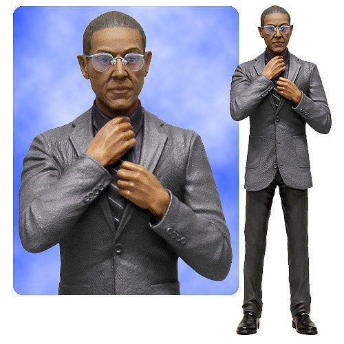"Mezco Toyz AMC Breaking Bad Gus Fring In Suit 6"" Mezco Figure Los Pollos Chicken"