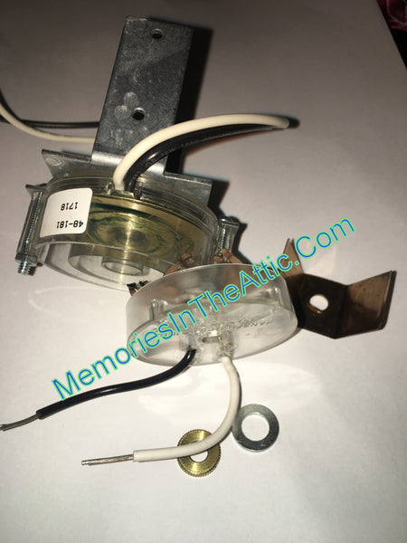 Synchron Motor Replacement Copper Bracket Plastic Top Only Budweiser Clydesdale Parade Carousels