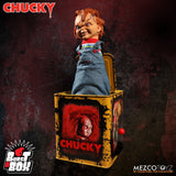 Mezco Toyz Burst A Box Child's Play Bride Of Chucky Jack In The Box Music