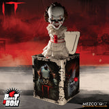 Mezco Toyz Burst A Box Pennywise It Clown 2019 Jack In The Box