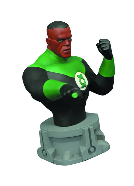 "DC Superhero Green Lantern Animated Series Resin Bust Varner Studios Limited 3000 6"" Tall"