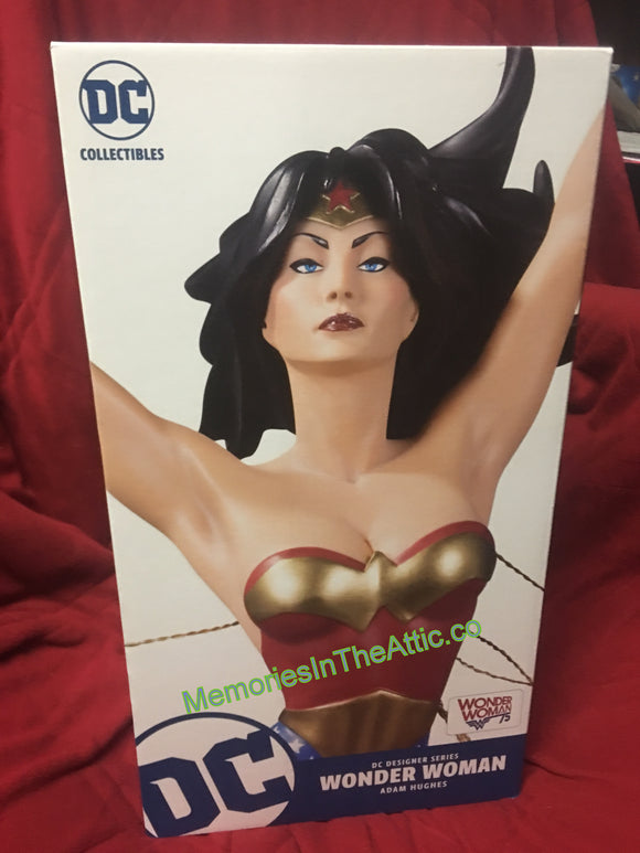 DC Designer Series WONDER WOMAN ADAM HUGHES Statue 14.85