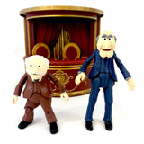 "Diamond Select Disney The Muppets Statler and Waldorf Balcony Chairs 4-5.5"" Tall Action Figures"