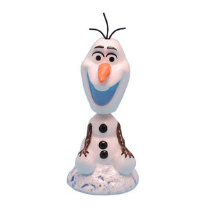 "Disney Frozen Olaf Ceramic Bobble Head 4 1/4"" Nodder Westland Giftware"