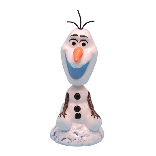 Disney Frozen Olaf Ceramic Bobble Head 4 1/4
